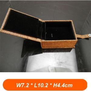 China Small Luxury Jewelry Box Lining Fabric Black Velvet China
