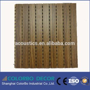 Interior Decoration Perforated Wood Acoustic Wall Panel pictures & photos