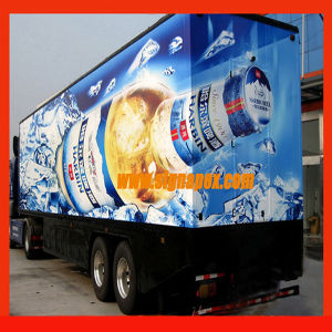 Bus Advertising Vinyl Film (BAV120) pictures & photos