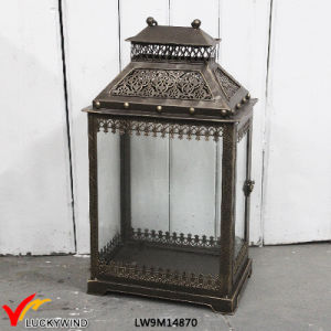 Antique Decorative Iron Outdoor Moroccan Lantern pictures & photos