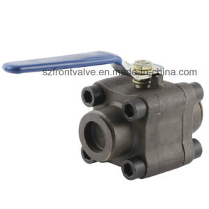Forged Steel 2PC Ball Valve-Sw or NPT pictures & photos