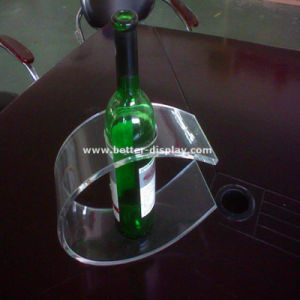 Acrylic Wine Bottle and Glass Holder pictures & photos