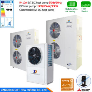 Central Heating Cop4.23 Hot Water Heat Pump Heater pictures & photos