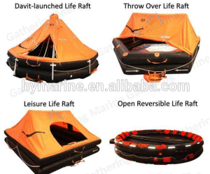 50 Person Durable Self-Righting Inflatable Liferaft pictures & photos