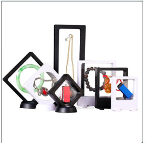 Jewelry Display Box, Transparent Suspended Box for Promotional Gift pictures & photos
