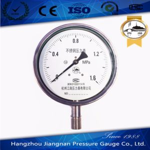 150mm 6'' Pressure Indicator Full Stainless Steel Pressure Gauge From Verified China Manufacturer