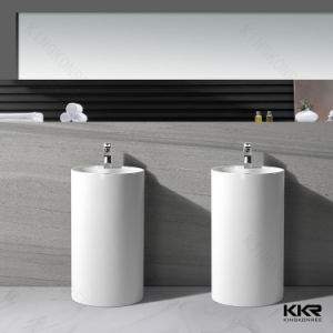 Western Design Bathroom Freestanding Wash Basin pictures & photos