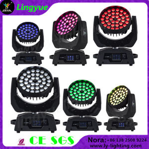 36X18W Rgbawuv Stage Disco LED Moving Head with Zoom pictures & photos