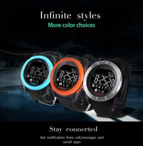 2017 Latest Smart Watch Uu Wrist Watch 50m Waterproof Sport Watch with Ce RoHS/Phone