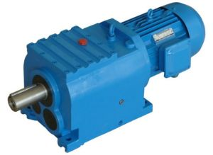 R Helical Gear Transmission Speed Reducer