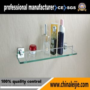 Modern Square Style Stainless Steel 304 Sanitary Ware Glass Shelf pictures & photos