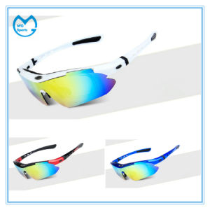 PC Lens Cycling Sunglasses for Riding Bikes pictures & photos