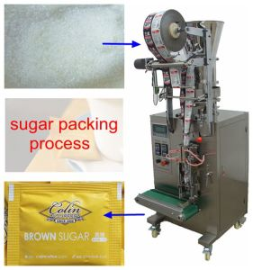 4 Sides Sealing Packaging Machine (PLC control; 40bags/min;) pictures & photos
