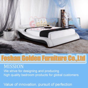 New Design! Ciff New Arrive Model Soft Leather Bed G933# pictures & photos