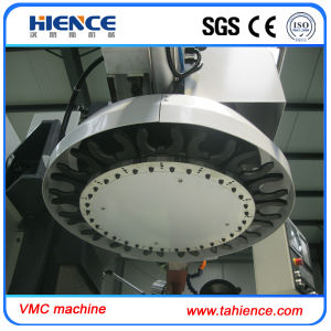 Aluminum CNC 4 Axis Vertical Machining Center Milling Machine Vmc7032 pictures & photos