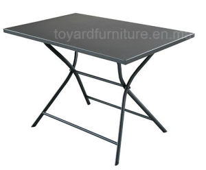 Best Choices Outdoor Hotel Garden Furniture Metal Folding Restaurant Table for Patio Restaurant Club Bar Use