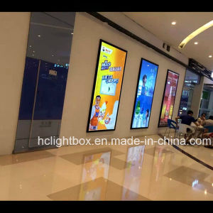 Illuminated Aluminum Poster Frame Wall Type LED Slim Light Box