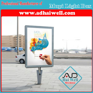 Mupi Advertising LED Backlit Light Box pictures & photos