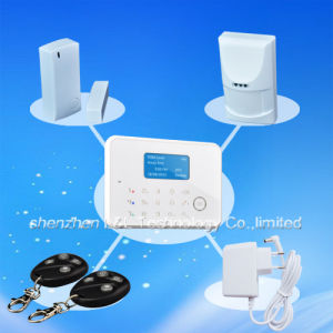 CE-Approved Business/Home Touch LCD Security GSM Alarm Host System (L&L-816G)