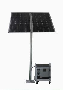 Small and Portable off Grid High Efficient Solar Power Generator