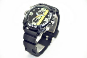 1080P Watch Camera Infrared Auto Len and 4 LED Lighting 36 Hours Nightvision