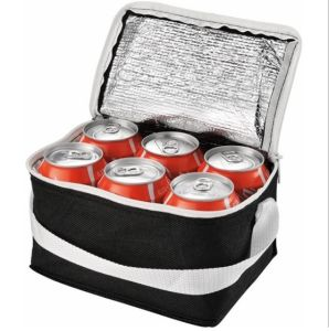 6 Cans Single Shoulder Insulated Cooler Bag (MS3112) pictures & photos