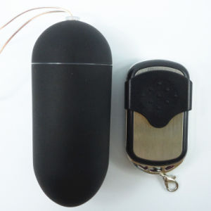 Black 10 Function Remote Control Vibrating Egg