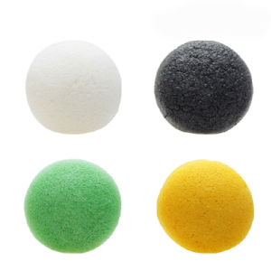 Toxin Massage Use Konjac Facial Sponge with Private Label