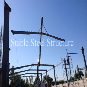 Steel Frame Boiler House Construction in Chile pictures & photos
