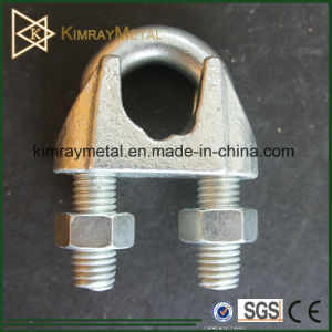 Malleable Iron Galvanized Wire Rope Clips with Groove
