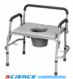 Drop Arm Wider Commode Chair (iron) Sc-2104 pictures & photos
