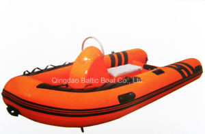China Fiberglass Inflatable Rib Boat Price 360 Ce