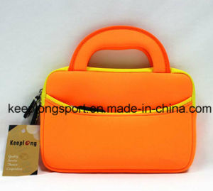 "Fashionable Neoprene Laptop Bag with The Handle for 10"" Laptop, Laptop Bag"