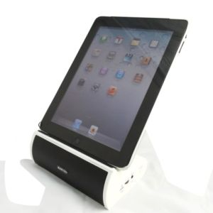 Sanyou for iPad Holder with Bluetooth Speaker