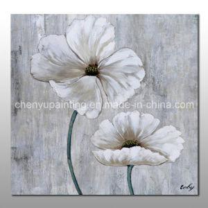 China handmade white flower oil painting modern art china oil handmade white flower oil painting modern art mightylinksfo
