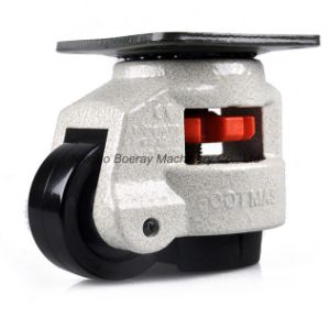 Aluminum Support Gd-60f Footmaster Caster Wheels for Aluminum Profile pictures & photos