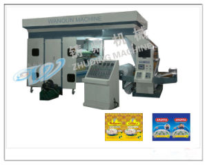 High Efficiency Non-Woven Fabrics Flexo Printing Machine (ZD series) pictures & photos