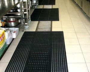 Slip Resistant Safety Kitchen Rubber Mats