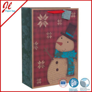 Brown Kraft Paper Bags for Christmas Holiday pictures & photos