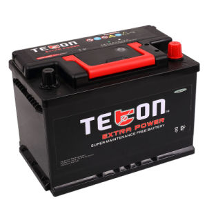 57512-12V75ah DIN Mf Storage Car Battery with RoHS/CE/Soncap