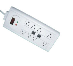 8 Outlets Extension Socket with ETL Approval (RPU-LTS-8S1) pictures & photos