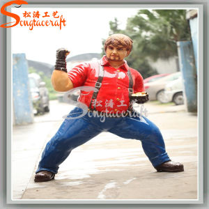 Ome Amusement Park Decoration Life Size Kungfu Statues pictures & photos