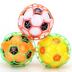 Plastic Music Dancing Flashing Football, Crazy Jumping Soccer Toy Ball