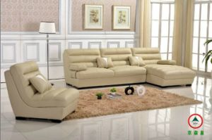 Sectional Genuine Leather Sofa
