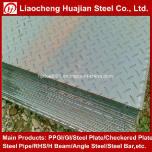 Q235B Mild Carbon Galvanized Steel Checker Plate pictures & photos