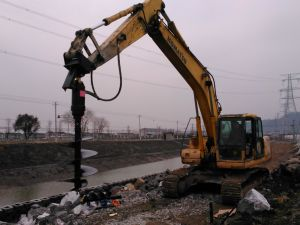 Excavator Auger to Digger Hole in 600mm pictures & photos