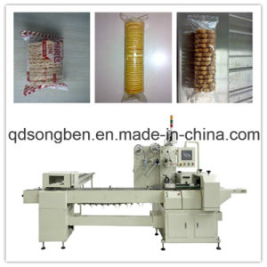 Trayless Biscuit Flow Packaging Machine pictures & photos