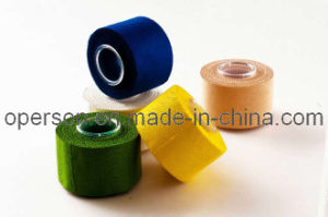 Rayon Cotton Adhesive Sports Tape Approved by ISO pictures & photos