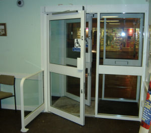 Safety Automatic Door Systems with Low Price (DS-S180) pictures & photos