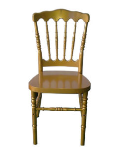 Gold Plastic Resin Napoleon Chair pictures & photos